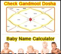 Gandmool Dosha