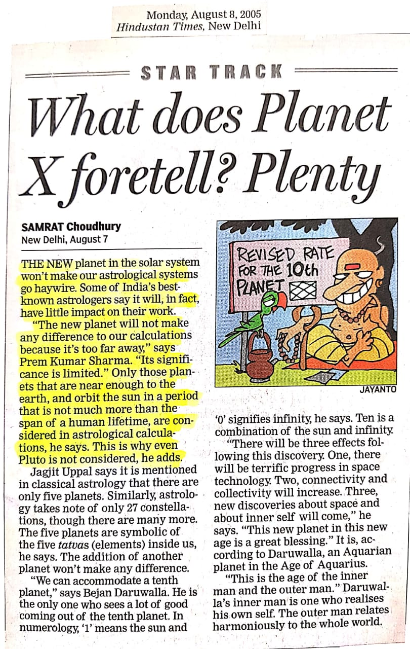 What does Planet X Foretell? Plenty