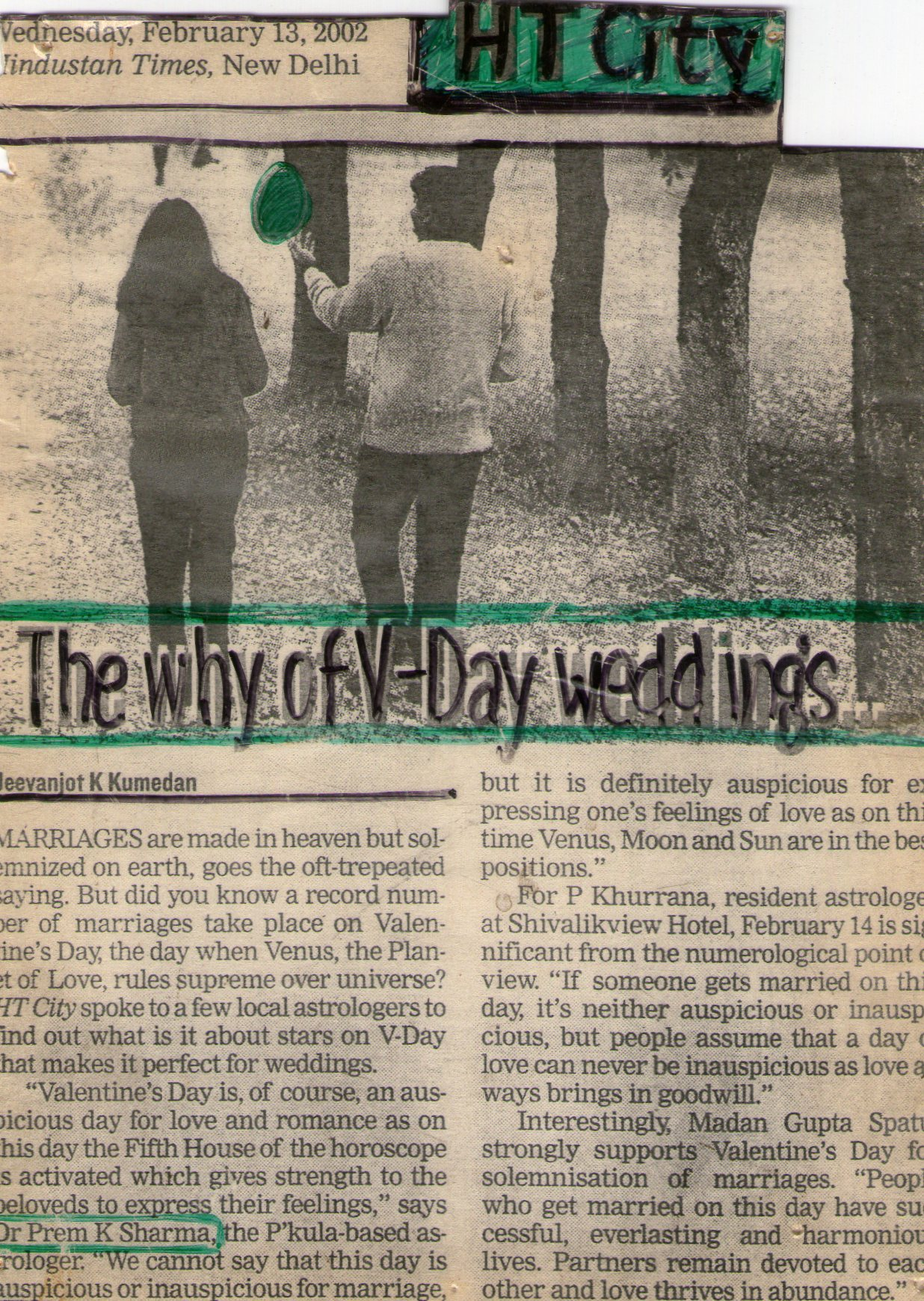 The why of V-Day Weddings