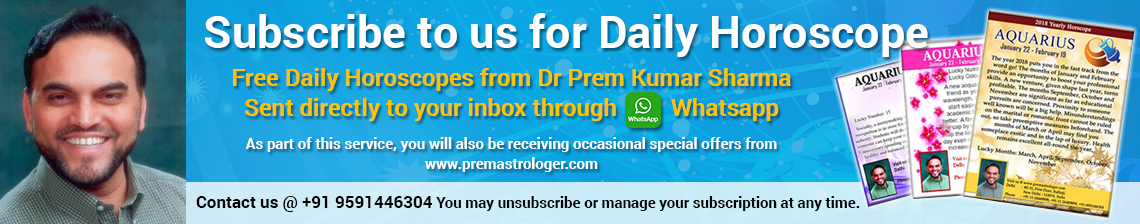 Dr prem sharma astrologer